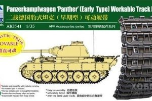 AB3541 1/35 Panzerkampfwagen V Panther Workable Track Link Set Early Type