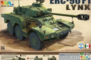 4632 French Armored Vehicle ERC-90F1 Lynx