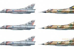2718 1/48 Самолет MIRAGE III CJ ACES
