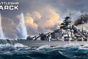 PS-003 Meng Германский линкор Бисмарк German Battleship Bismarck