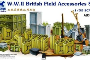 AB3562 1/35 WW. II. British Field Accessories Set