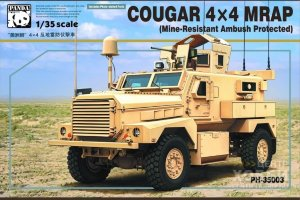PH35003 1/35 COUGAR 4X4 MRAP (Mine-Resistant Ambush Protected)