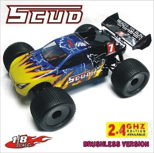 08061 1/8 Brushless Electric Off Road Truggy - Scud, 2.4G edition available 08061 1/8 Brushless Electric Off Road Truggy - Scud, 2.4G edition available