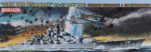 "7125 1/700 ""Sink the Bismarck"" May 26-27, 1941 - German Bismarck + RN Swordfish 1/700 ""Sink the Bismarck"" May 26-27, 1941 - German Bismarck + RN Swordfish"