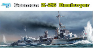 1064 1/350 German Z-26 Destroyer 1/350 German Z-26 Destroyer