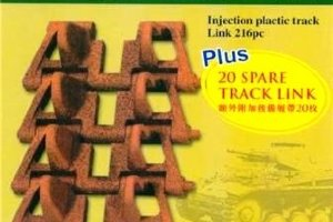 AB3513 1/35 PzKpfw II (Sd Kfz 121) Workable Track Link Set