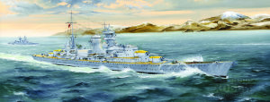 05346 German Heavy Cruiser Blucher German Heavy Cruiser Blucher