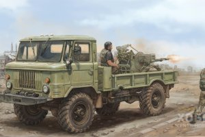 01017 1/35 Russian GAZ-66 Light Truck II