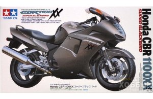 14070 1/12 Японский мотоцикл Honda CBR 1100XX Super Black Bird 14070 1/12 Японский мотоцикл Honda CBR 1100XX Super Black Bird