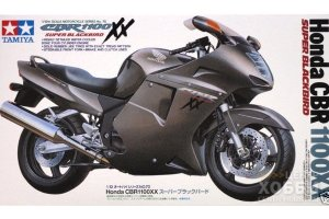 14070 1/12 Японский мотоцикл Honda CBR 1100XX Super Black Bird
