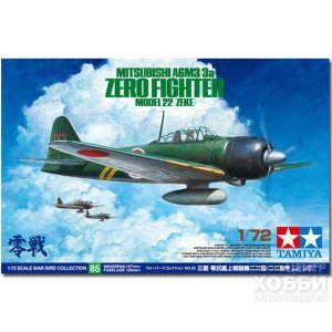 60785 1/72 Mitsubishi A6M3/3a Zero Fighter Model 22 (Zeke) 1/72 Mitsubishi A6M3/3a Zero Fighter Model 22 (Zeke)