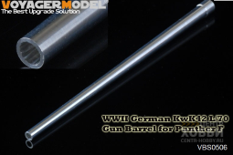 VBS0506 WWII German KwK42 L/70 Gun Barrel for Panther F(GP)