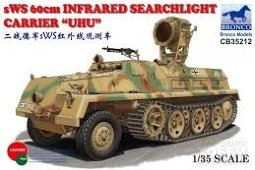 "CB35212	1/35	""sWS 60cm Infrared Searchlight Carrier """"UHU"""""""