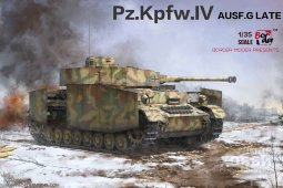 BT-001 1/35 PZ.KPFW.IV AUSF.G MID/LATE (2 IN 1)