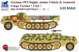 CB35214	1/35	German SWS Supply Ammo Vehicle & Armored Cargo Version (2in1)