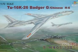 01612 1/72 Самолет Tu-16K-26 Badger G/Chinese H-6