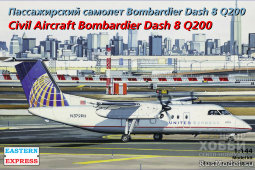 ЕЕ144132 Dash 8 Q200  United Experss / Continental