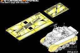 PEA331 WWII US M3A3 Stuart Fenders/Side skirts (FOR AFV CLUB KIT)