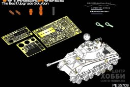 "PE35709 WWII US M4A3E8 Sherman""Easy Eight""Basic (For TAMIYA 25175)"