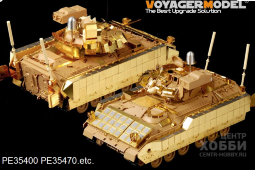 PE35400 Modern US M2A3 Infantry Fighting Vehicle w/ERA Basic (For TAMIYA 35264)