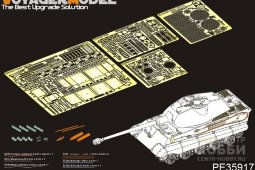 PE35917 WWII German King Tiger Initial Version Basic(For TAKOM 2096)