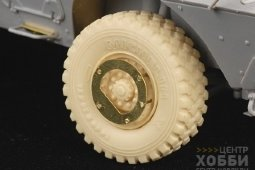 PEA199 1/35 Modern US Army M1117 Road Wheels (For TRUMPETER)