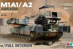 RM-5007 M1A1/A2 Abrams with Full Interior