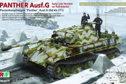 RM-5016 Panther Ausf. G Early/ Late version w/ Full Interior
