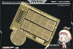 FE48013 WWII Russian JS-2 tank Grills set(For TAMIYA 32571