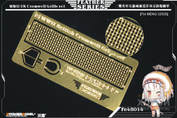 FE48014 WWII UK Cromwell Grills set(For TAMIYA 32528)