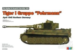 "RM-5005 Tiger I Gruppe ""Fehrmann"" April 1945 Northern Germany"