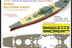 IW-70003 - Infini Model 1/700 Yamato Ultra Slim Wooden Deck