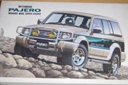 01383 1/24 Mitsubishi Pajero Midroof Wide Super Exceed