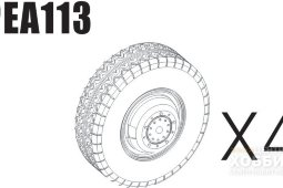 PEA113 1/35 Road Wheels for Sd.Kfz.234 Pattern 4 (For DRAGON)