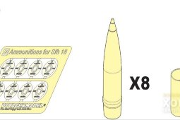 PEA114 1/35 Ammunition for Hummel/ s FH 18 HOWITZER Patten1 (For All)