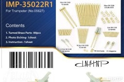 IMP-35022R1 1/350 GRaf Zeppelin Metal Barrels set for Trumpeter kit #05627