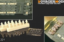 PEA221 1/35 WWII Russian Spare Track Holders for JS Heavy Tank Series (18 pcs) (For All)