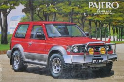 018194 Mitsubishi Pajero XR-II Staff Bar Metaltop Wide