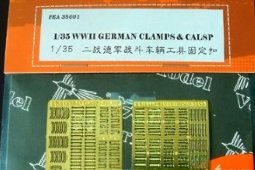 PE35001 1/35 WWII German Clamps & Clasp