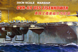 80904 1/700 Electric aircraft carrier - US Eisenhower