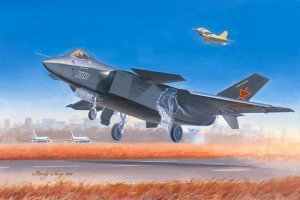 01663 Chinese J-20 Mighty Dragon
