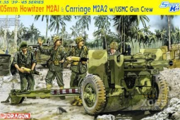 6531 1/35 105mm Howitzer M2A1 & Carriage M2A2