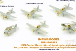 IMP-35034R1 1/350 USN Carrier Aircraft Detail Set A (Deluxe)