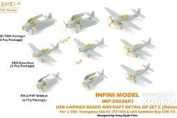 IMP-35036R1 1/350 USN Carrier Based Aircraft Set Deluxe C