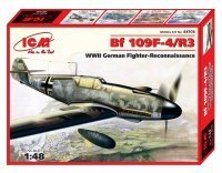 48106 Bf 109F-4/R3 WWII German Fighter Reconnaissance