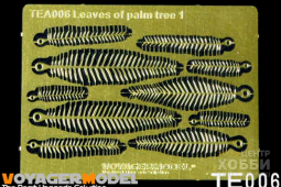 VS001 Leaves of plam tree I (Same as TE006)