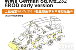 PE35193 1/35 WWII German Sd.Kfz.232 8 ROD early version (For TAMIYA Kit)