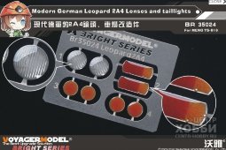 BR35024 Modern German Leopard 2A4 Lenses and taillights(For MENG TS-016)