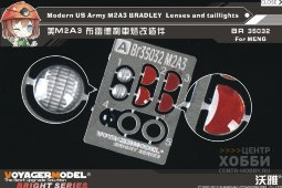 BR35032 Modern US Army M2A3 BRADLEY Lenses and taillights (For MENG SS-004)