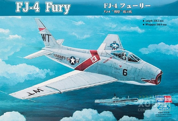 80312 1/48 Самолет FJ-4 Fury Fighter